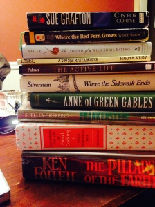 I love lots of books. Here is just a short stack of my favorites.
